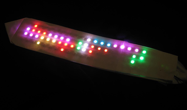 Tetris LED Tie: The Missing Puzzle Piece for Your Geeky Suit