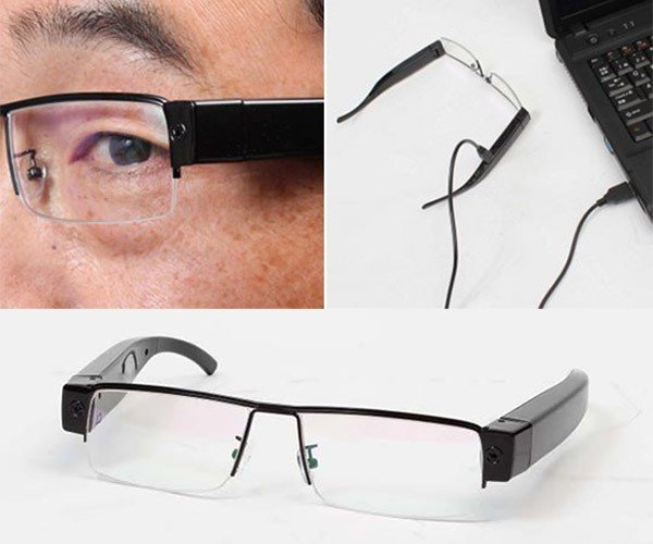 Thanko Mitamanma Megane HD Camera Glasses: Google Glass Minus Google