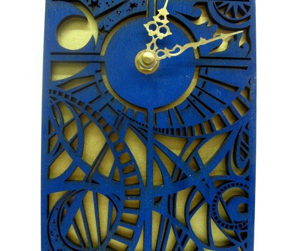 Doctor Who Wall Clock Gets all Timey Wimey