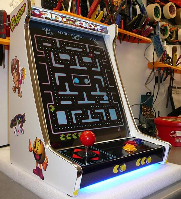 Tabletop Arcade Machines Half Cabinet Half Amazing