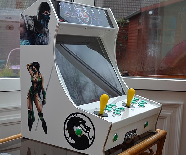 Tabletop Arcade Machines: Half-Cabinet, Half-Amazing