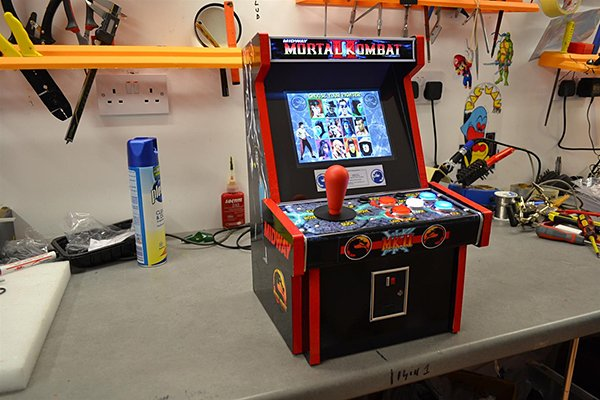 Tabletop Arcade Machines: Half-Cabinet, Half-Amazing - Technabob