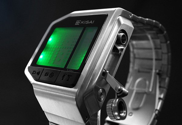 tokyoflash intoxicated kisai breathalyzer watch side photo