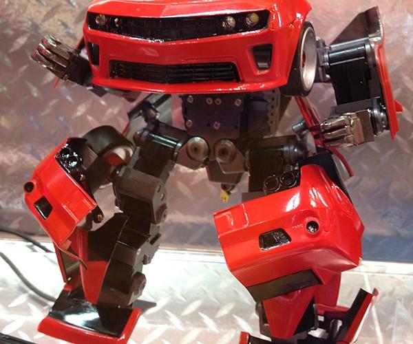 Takara Tomy Transforming Robot Car Prototype: Brave Robotics in Disguise