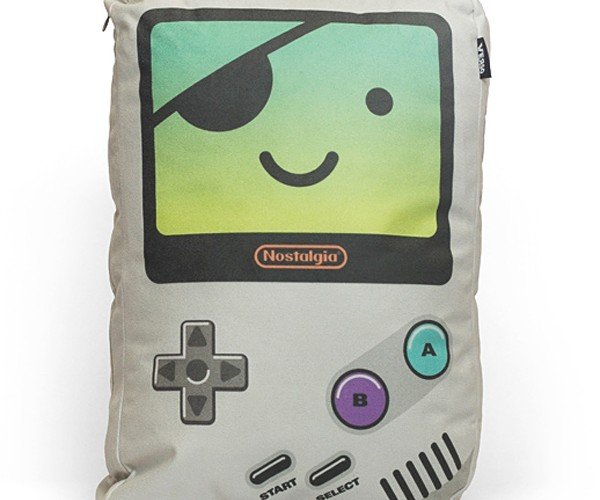 Verso Game Boy Pillows: Now You're Sleeping with Nostalgia