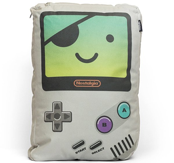 verso game boy pillows