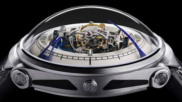 Vianney Halter's Deep Space Tourbillon: Analog Time from Deep Space Nine!