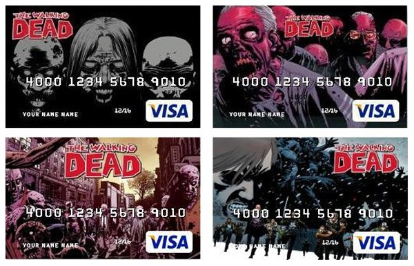 walking dead credit cards 2