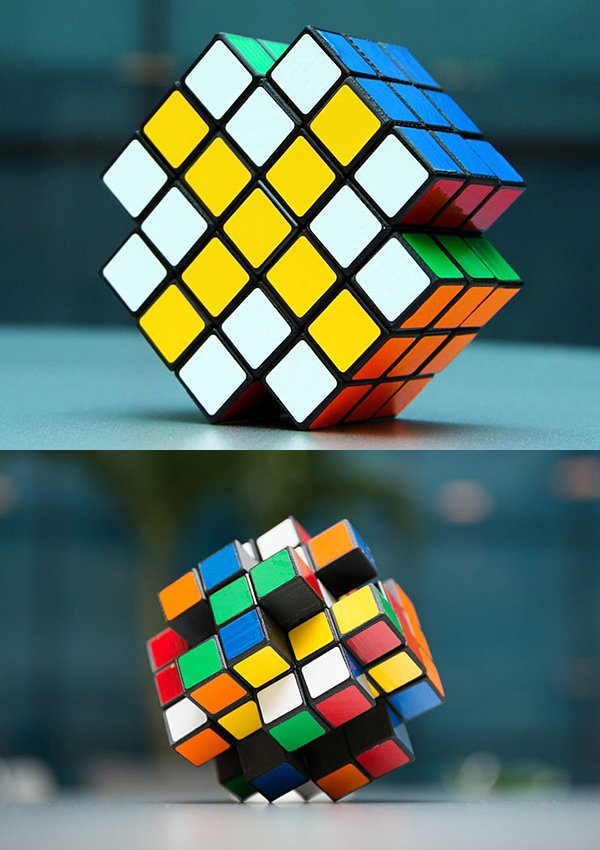 x cube 3d printed open source puzzle cube by dane christianson