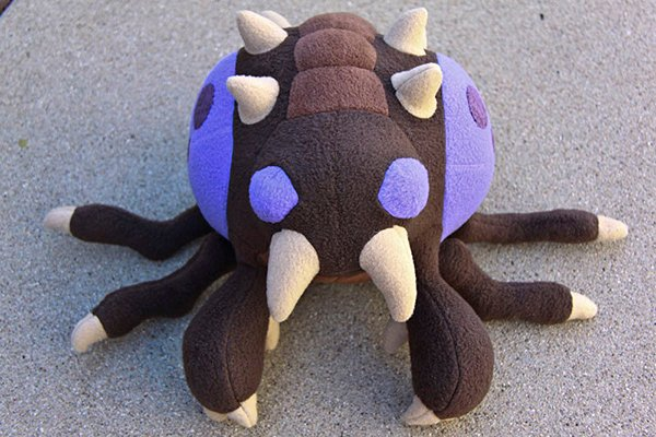 zerg overlord plush toy by arixystix