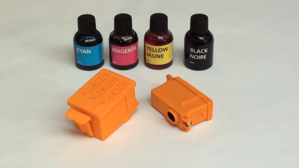 3D-Printed Inkjet Printer Cartridges