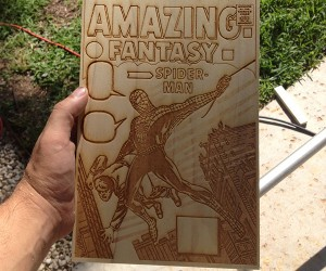 3d wood veneer comic cover by kevinmakes 8 300x250