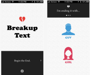 Breaking Up is Hard to Do… So Let This App Do It for You