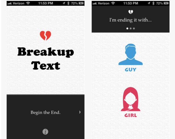 Breakup App1