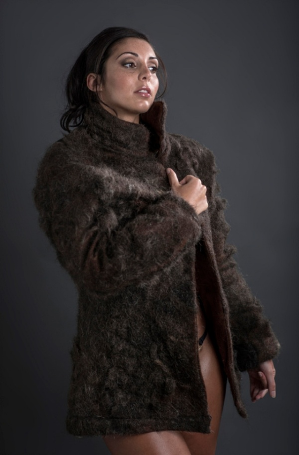 Chest Fur Coat