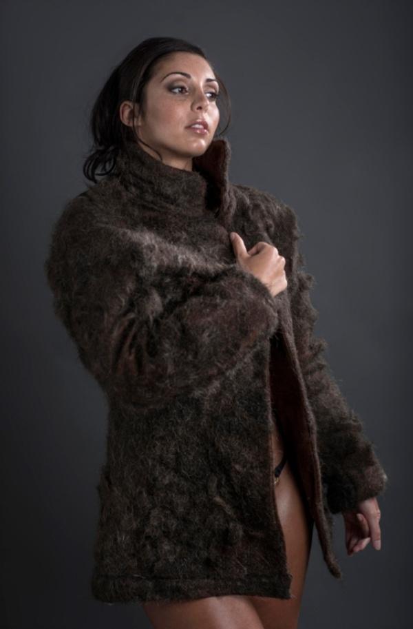 Chest Fur Coat