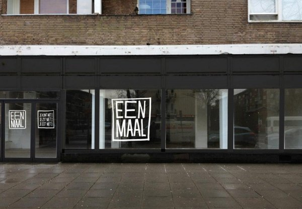 Een Maal One Person Restaurant