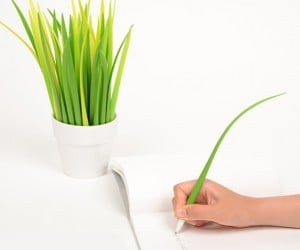 Pot of Grass Pens: Prevent People from Stealing Your Pens, Once and For All