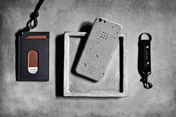 Luna iPhone Skin is Made from Concrete
