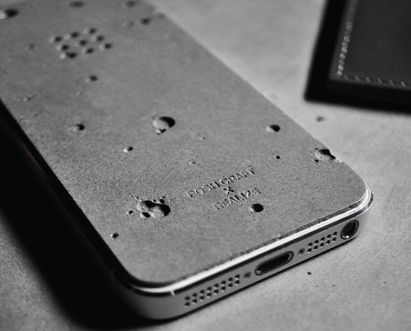 Luna Concrete Phone Case1