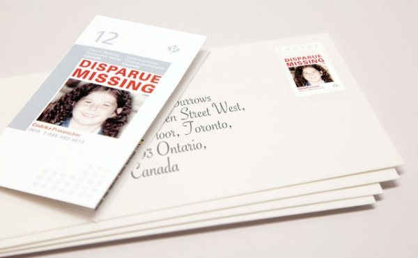Missing Kids Stamps Turns Mail into Missing Child Alerts