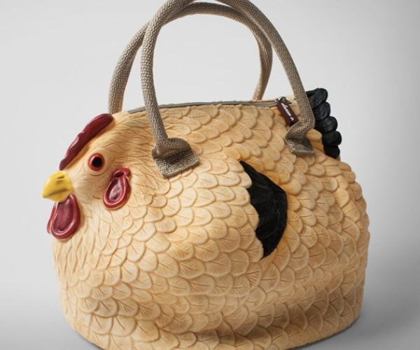 Clucktch Chicken Handbag Can Hold Your Golden Eggs and More