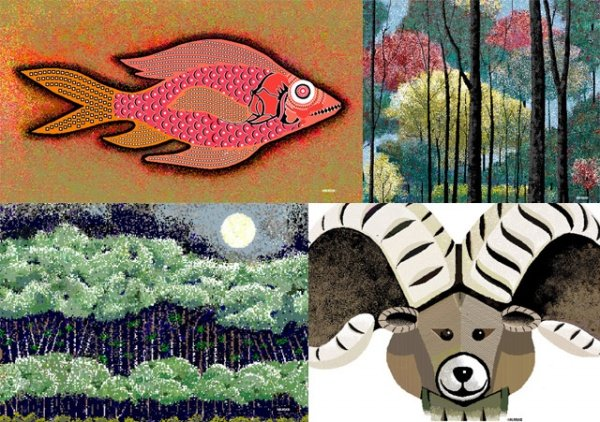 Pixel by Pixel: 97-Year-Old Creates Amazing Digital Art Using Microsoft Paint