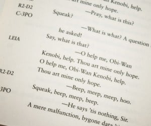 May the Force Be with Thou: Star Wars Gets Shakespeared