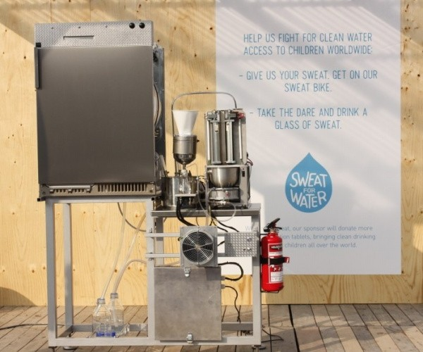 Sweat Machine Turns Sweat Into Water You Can Drink