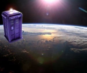 The TARDIS Is Going to Space… For Real.