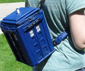 Doctor Who TARDIS Backpack: Get off My Back, Gallifrey