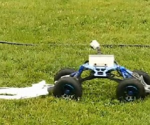 Tick Rover Robot Kills Ticks Dead