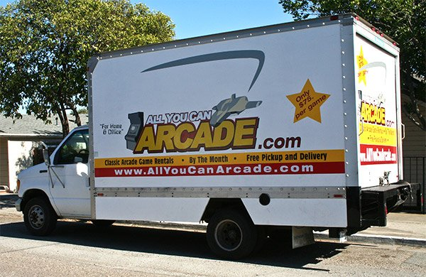 all you can arcade truck