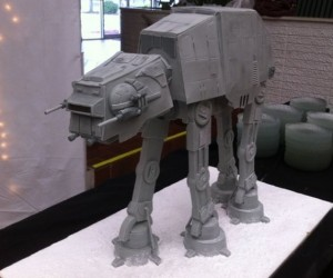 AT-AT Groom's Cake, Attack It with a Snowspeeder Fork