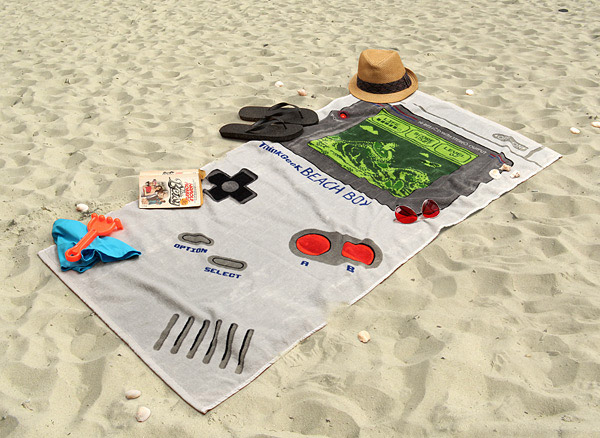 Take Your Game Boy to the Beach Without Worrying About Getting Sand in It