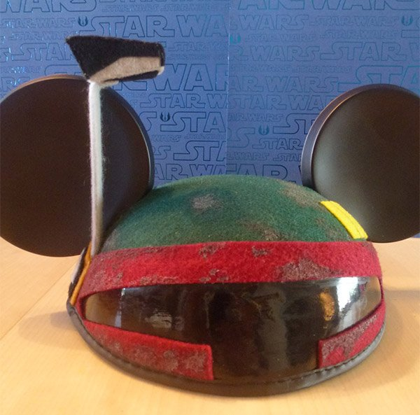 boba fett mickey hat