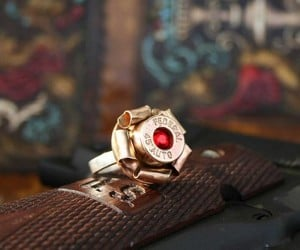 Bullet Blossom Ring: Guns N' Roses for Your Finger