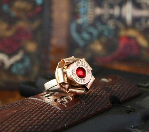 bullet blossom ring