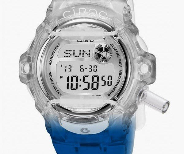 CIROC Casio G-Shock Breathalyzer Watch Looks Great Despite Being Fake