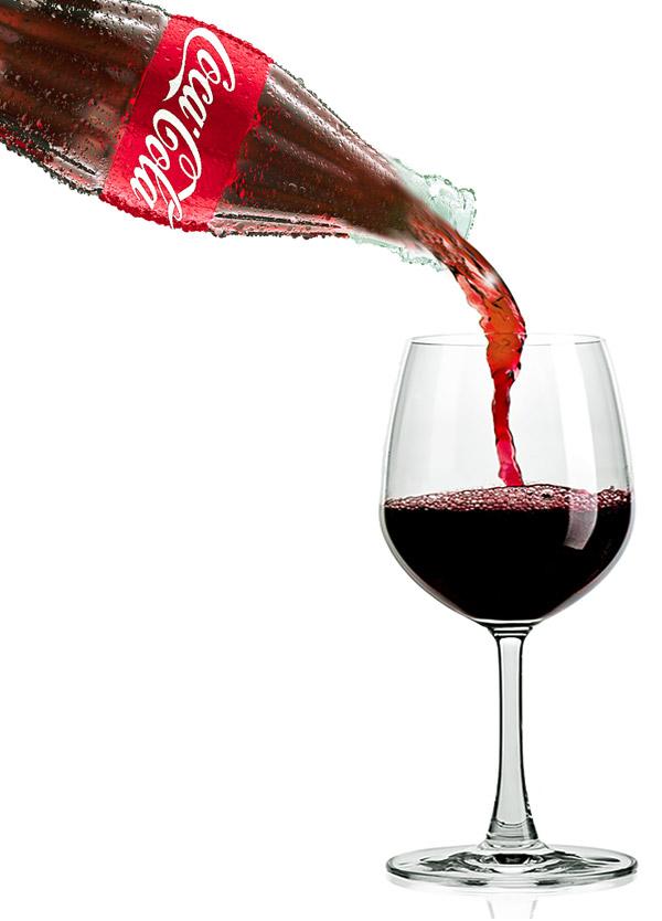 coke wine