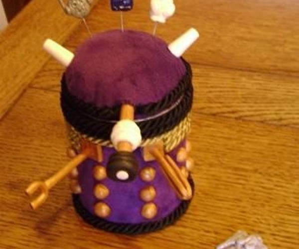 Dalek Sewing Caddy Exterminates with Cuteness