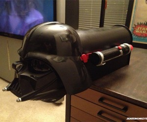 Darth Vader Mailbox: The Dark Side of the Post Office