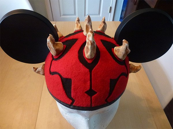 darth maul mickey hat