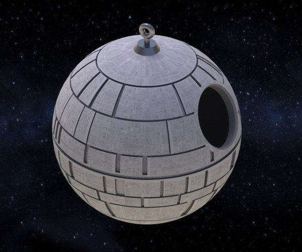 3D Print Your Own Death Star Birdhouse: A New Home