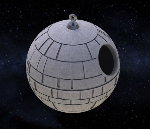 death star birdhouse 1