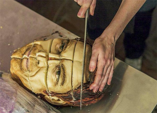 Dexter Morgan Served on a Slab – in Cake Form