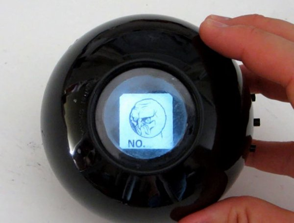 DIY Digital Magic 8-Ball with up to 60 Answers: Without a Doubt, It's Even More Confusing