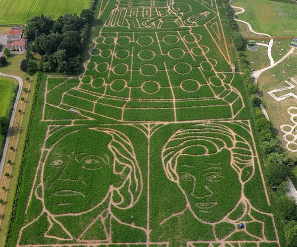 Doctor Who Corn Maze: Orville Reden-Doctor Approves