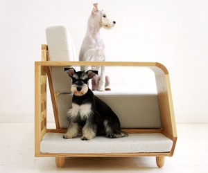 mpup Dog House Sofa Gives Pups a Couch of Their Very Own