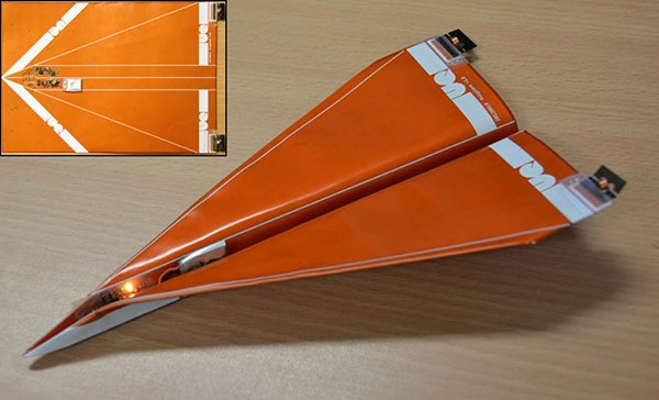 drone uav paper plane by dr paul pounds